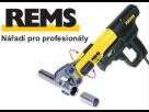 Profesionální nářadí od firmy REMS se využije na každé stavbě