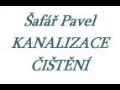 Pavel Šafář - čištění kanalizace, odpadů