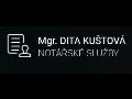 Mgr. Kuštová Dita - notářské služby