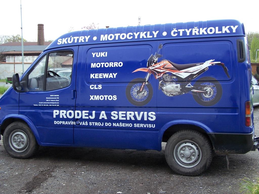 Prodej a servis motocykly a skútry světových značek.