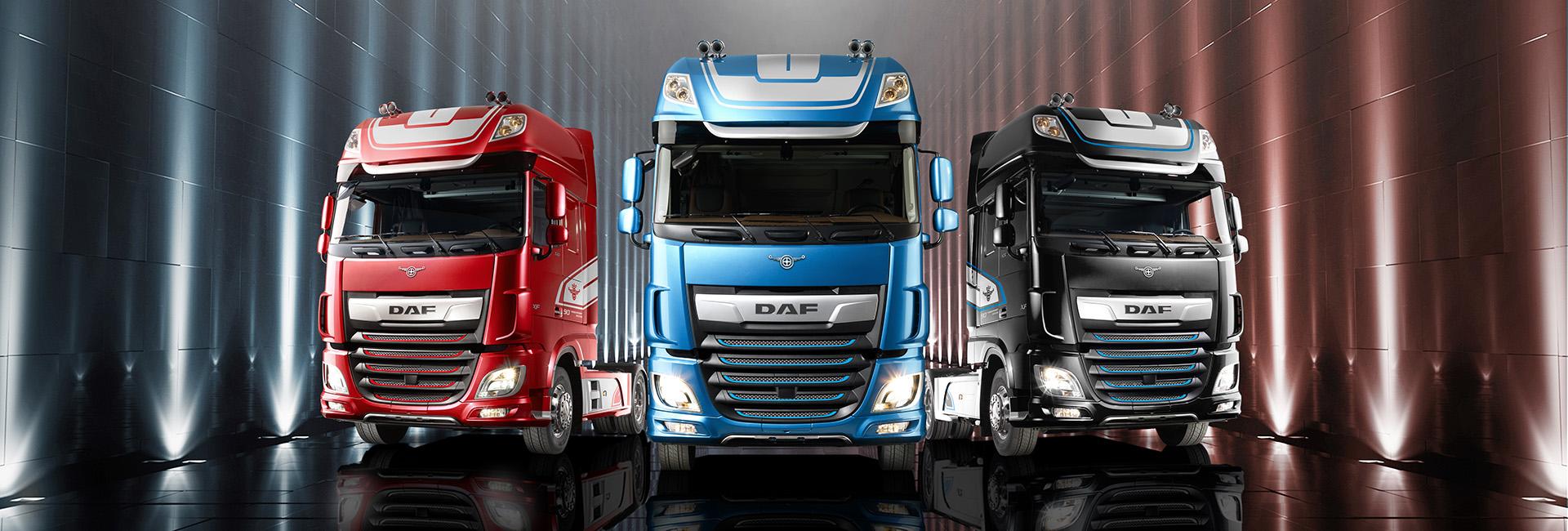 Kamiony, nákladní automobily DAF Trucks Praha, s.r.o.
