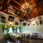 Stylová restaurace Lovecká chata Folmava