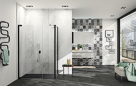 Hüppe s.r.o., kvalitní sprchové kouty a vanové zástěny