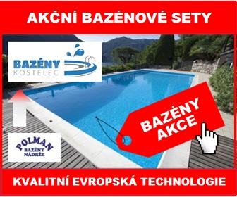 Bazény Kostelec - Kvalitní plastové bazény za skvělou cenu