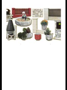 kamenné ploty, krby, pískoviště pro děti