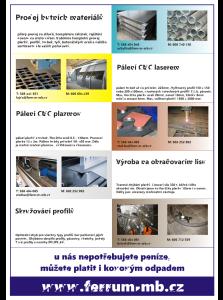 Služby v kovoprůmyslu