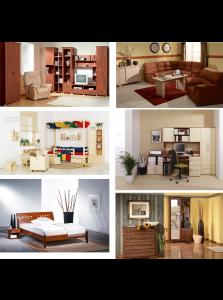 Obývací pokoje, ložnice, dětské pokoje, předsíně