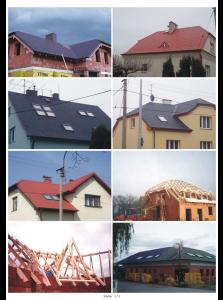 rekonstrukce, dodávka, montáž střech - Ostrava