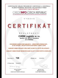 CHEM Logistic - spolehlivý dodavatel chemikálií