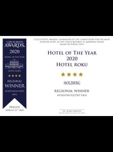 Hotel roku 2020 v Moravskoslezkém kraji – Czech Hotel Award
