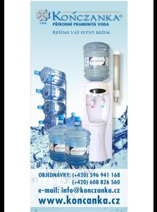 KONCZANKA CZ s.r.o. - přírodní pramenitá voda