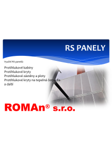 RS panely
