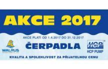 AKCE na čerpadla 2017