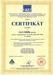 Certifikát IMS