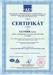 Certifik�t ISO, GLUMB�K s.r.o.