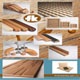 Obkladové a designové desky z masivního dřeva, schodišťový program madel a příslušenství k nim, větrací a ozdobné mřížky, dřevěné lišty, řezby, rámy a další nábytkové příslušenství ze dřeva