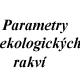 Parametry rakví