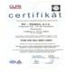 certifikát jakosti, SV - Elektro, s.r.o. elektromontáže a revize