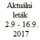 Aktuální leták 2.9. - 16.9.2017, Drogerie Horizont ESPACE velkoobchod drogerie s.r.o.