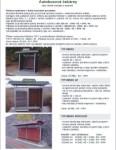 Katalog - autobusové čekárny, městský mobiliář...