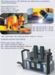 CNC plazmový stroj a vertikální soustruh