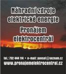 Náhradní zdroje elektrické energie, PRONÁJEM ELEKTROCENTRÁL - Šafařík s.r.o.