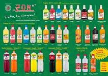 Výroba nealkoholické nápoje, limonády, sirupy - sortiment