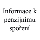 Informace o syst�mu dopl�kov�ho penzijn�ho spo�en�, �esk� spo�itelna - penzijn� spole�nost, a.s. Penzijn� p�ipoji�t�n� Praha