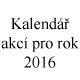Kalend�� akc� pro rok 2016, Zoologick� zahrada �st� nad Labem, p��sp�vkov� organizace