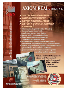ARS - AXIOM REAL, spol. s r.o. Cisteni fasad Praha