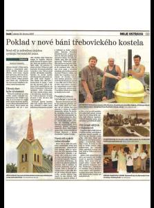 Statutární město Ostrava Městský obvod Třebovice