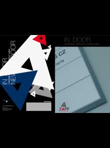 Produktové letáky Indoor a Outdoor