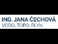 Ing. Jana Čechová - vodo, topo, plyn