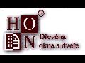 HON-okna, dveře, s.r.o. Výroba dřevěných oken a vchodových dveří